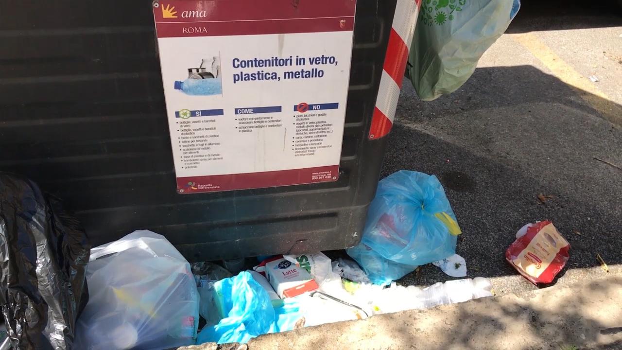 CICLO RIFIUTI: ROMA SENZA PACE - TG