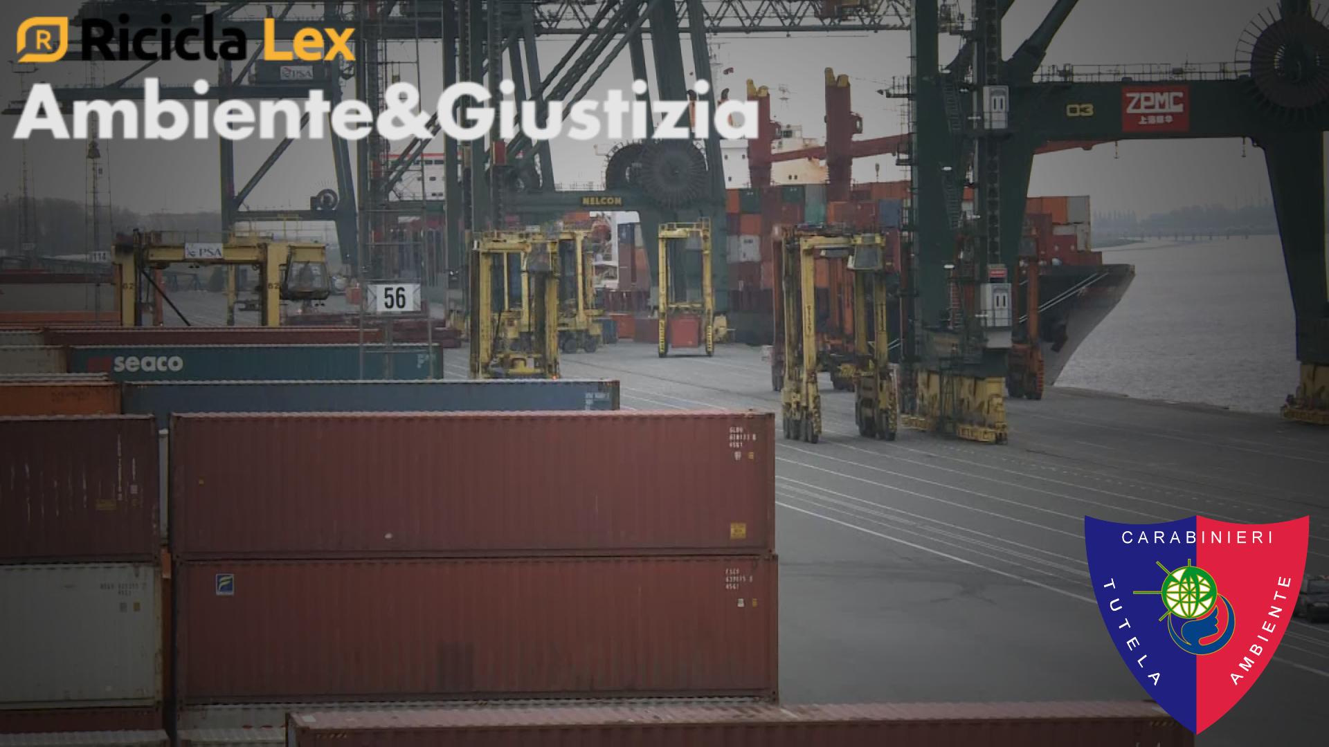 EXPORT DI RIFIUTI: FOCUS SUL TRAFFICO INTERNAZIONALE