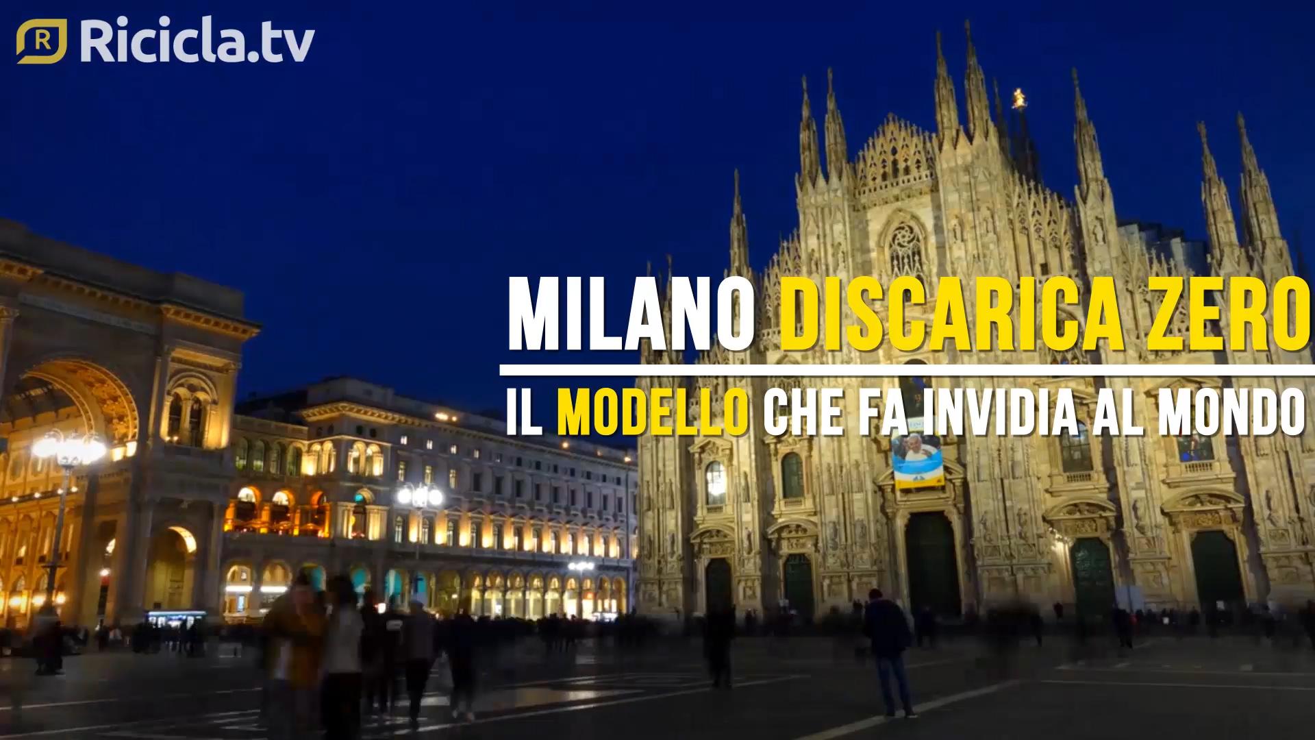 MILANO, DIFFERENZIATA AL 56% E VALORIZZAZIONE ENERGETICA: LA RICETTA DELL'EFFICIENZA