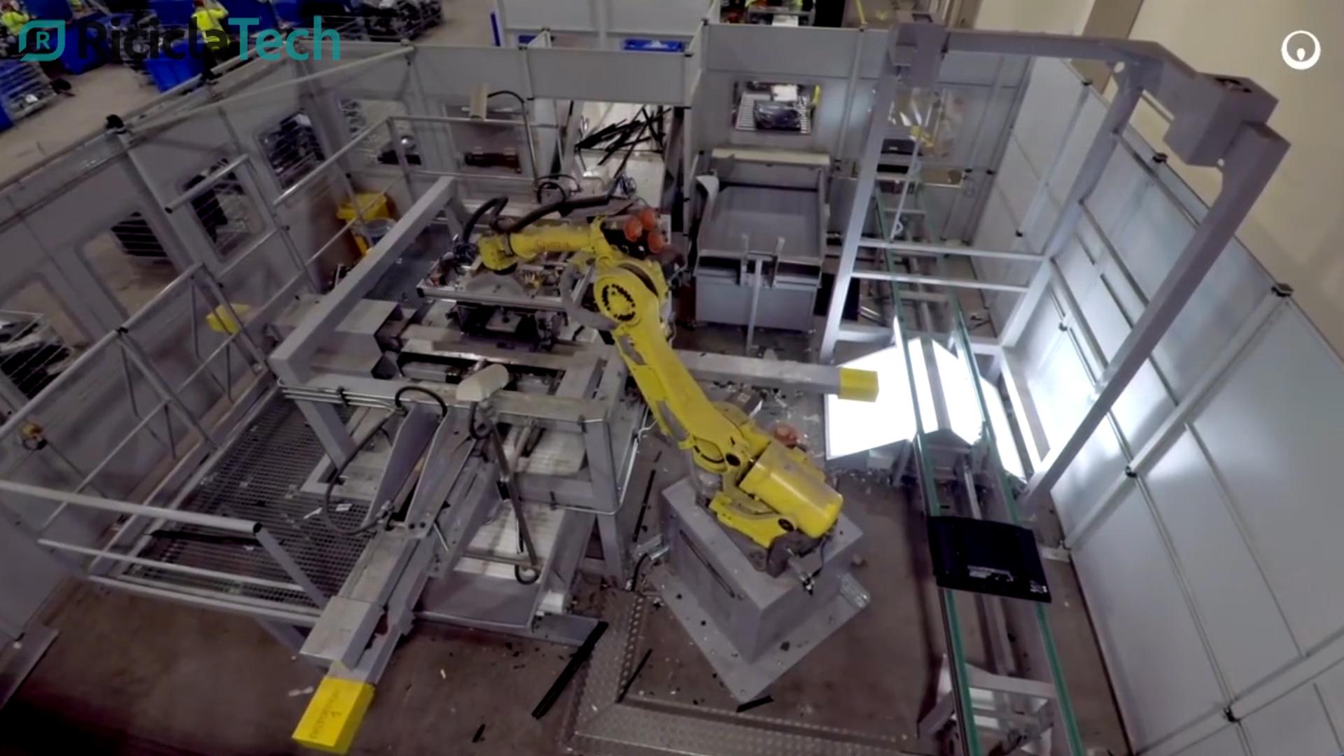 DALL'UK IL ROBOT CHE RICICLA LE VECCHIE TV