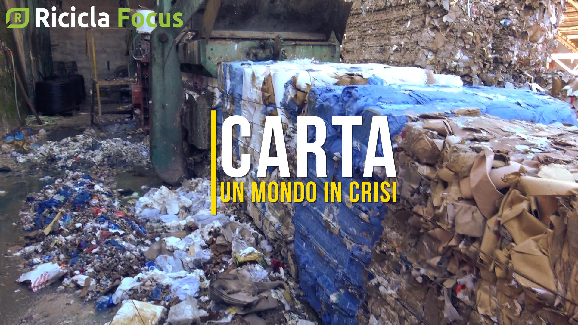 CARTA, COMPARTO IN GINOCCHIO: IMPIANTI PRONTI A CHIUDERE
