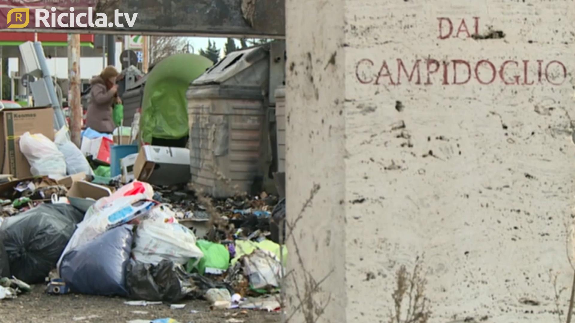 ROMA, POLEMICHE SULLA NUOVA DISCARICA