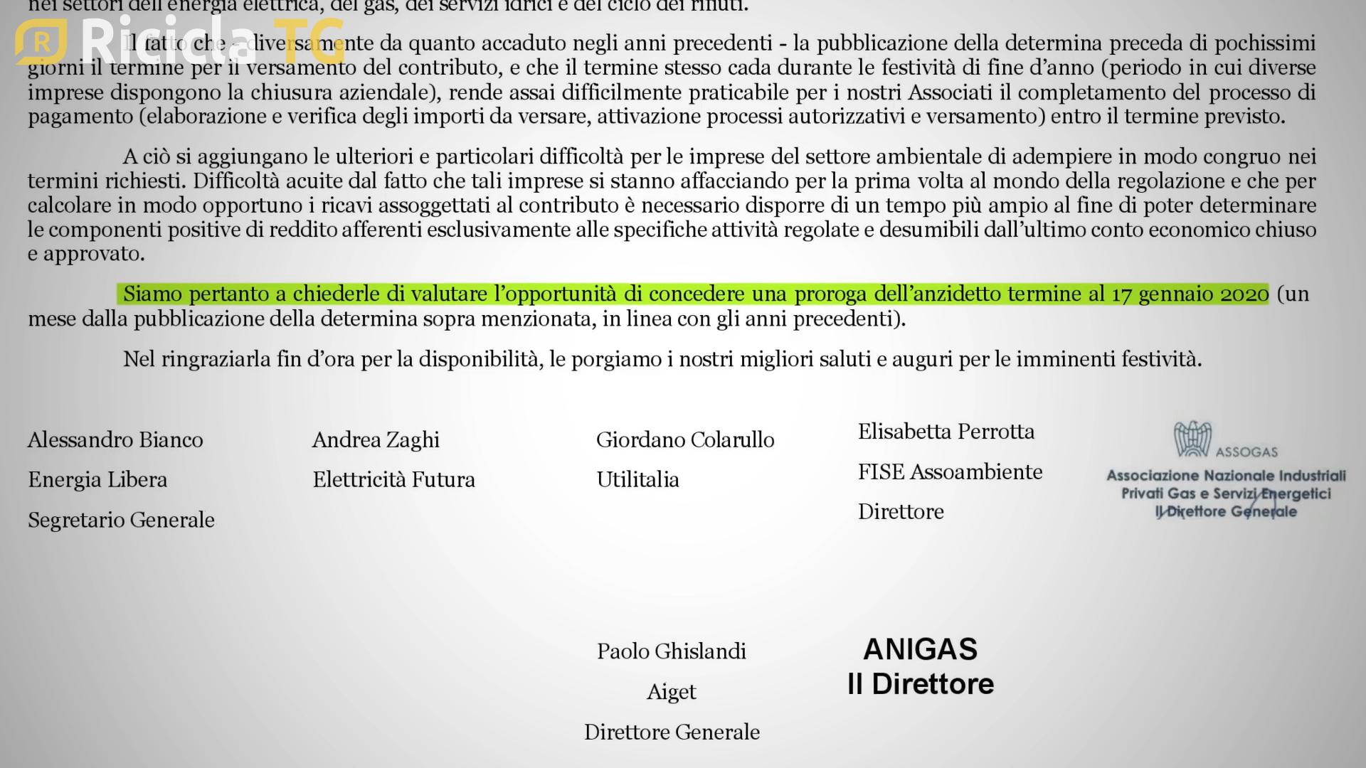 ARERA, IMPRESE CONTRO LA DELIBERA DELLA DISCORDIA - TG