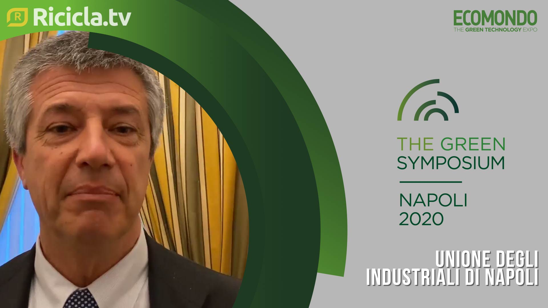 GREEN SYMPOSIUM 2020 - GRASSI: «UNA CLASSE DIRIGENTE CHE SI RISPETTI DEVE CONOSCERE LA SOSTENIBILITÀ»