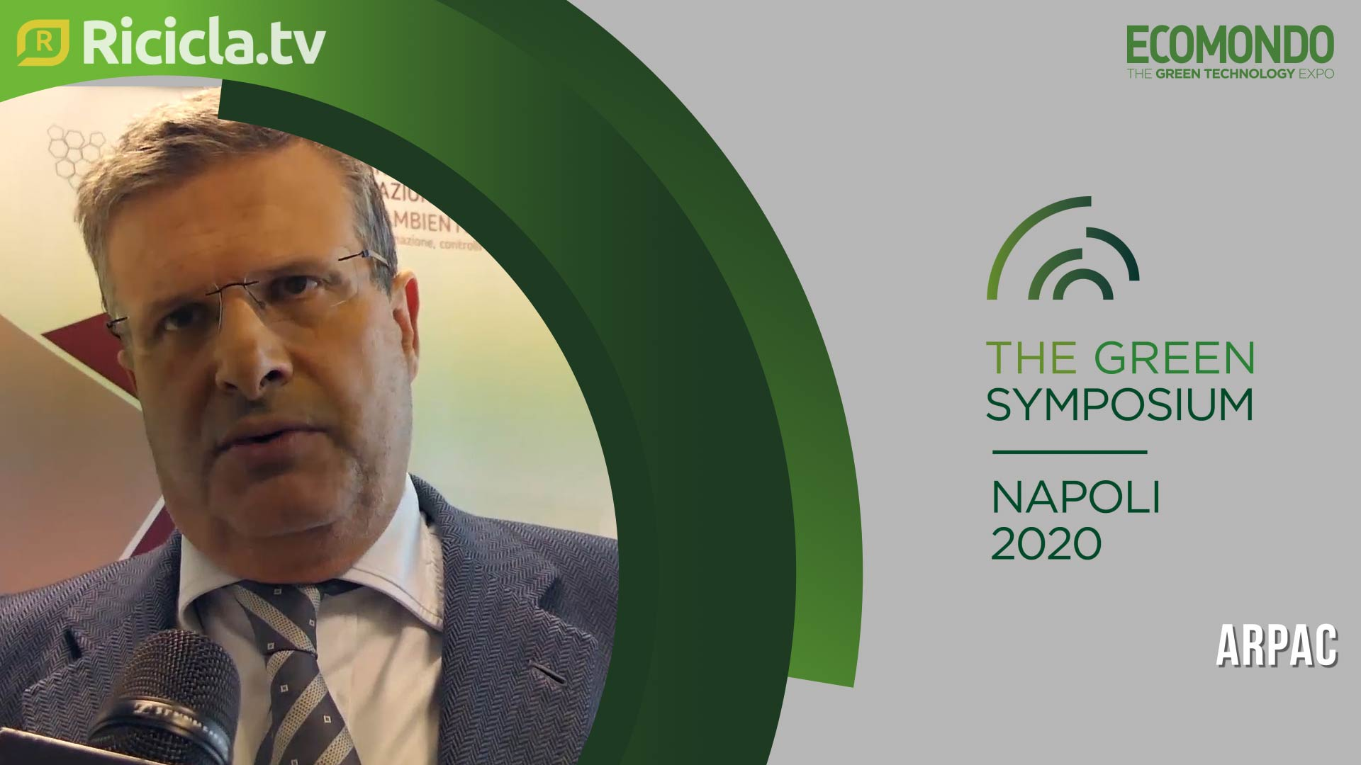 GREEN SYMPOSIUM 2020 - SORVINO: «OCCASIONE DI INCONTRO E CONFRONTO CON L'OPINIONE PUBBLICA»