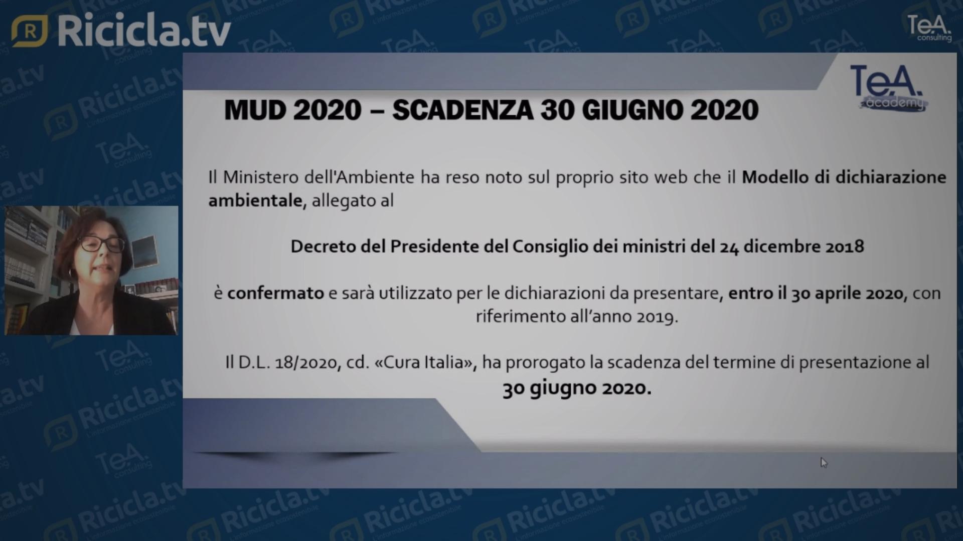 MUD 2020: SUGGERIMENTI PER NON SBAGLIARE