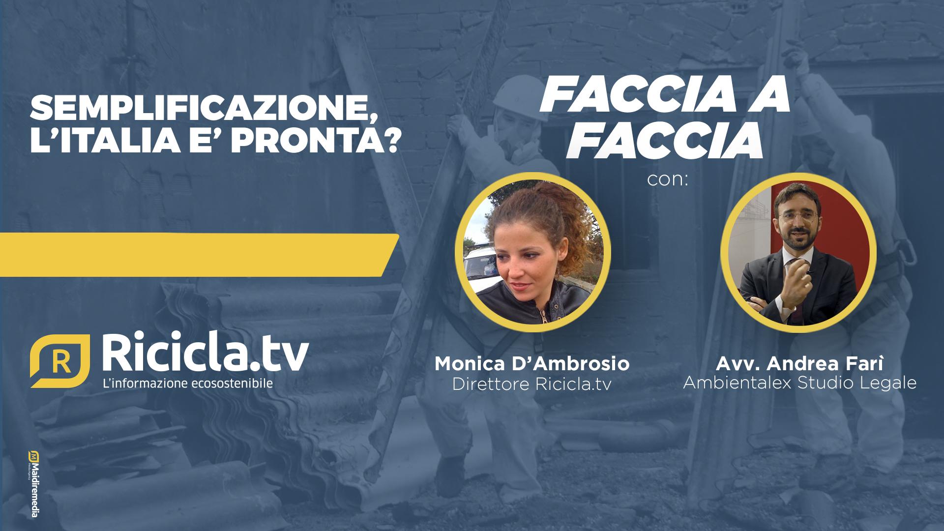 SEMPLIFICAZIONE, L'ITALIA E' PRONTA?